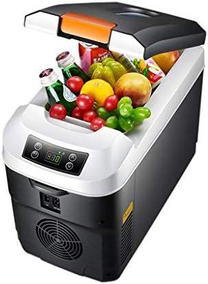 カー冷蔵庫12Vポータブル冷蔵庫カー冷蔵庫12V / 220Vの冷凍デュアルユースポータブルミニ冷凍庫