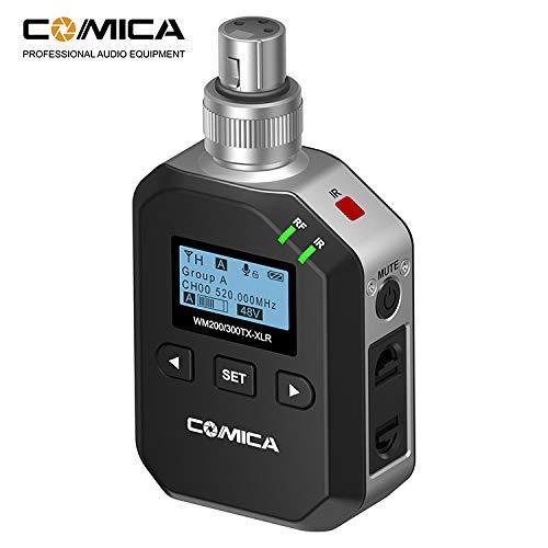 COMI CA CVM-WM200&300-XLR UHF Wireless Plug-In XLR Transmitter.