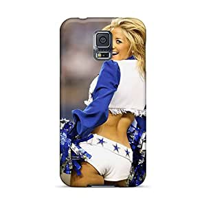 New Style Bernardrmop Dallas Cowboys Cheerleader Custome Premium Tpu Cover Case For Galaxy S5