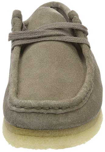 Originals 36 Femme EU Wallabee Gris Suede Clarks Derbys Grey zxdn40Hzqw