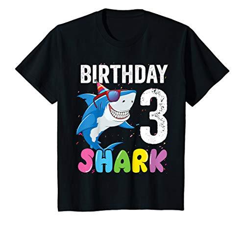 T-shirt Jawsome - Kids 3rd Birthday Shark Shirt JawSome Three Year Old Toddler T-Shirt