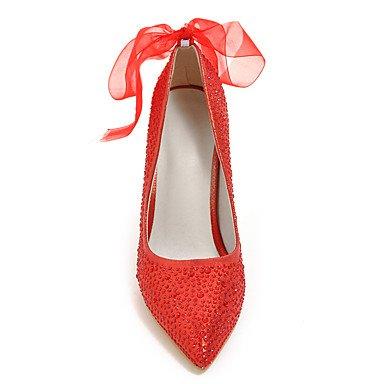 Talones de las mujeres Zapatos Primavera Verano Otoño Invierno Club de brillo personalizada Materiales banquete de boda y vestido de noche del tacón de cuña de tacón de aguja Gold