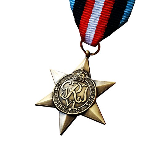 Military Medal Arctic Star British Commonwealth WW2 Arctic Convoy Rare Replica