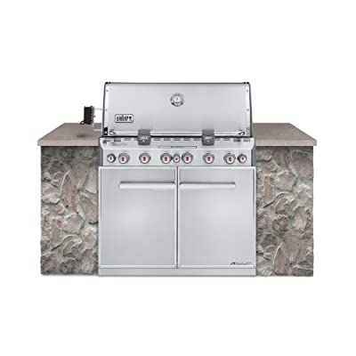 WEBER Summit S-660 Built-In Natural Gas Stainless Steel Grill (7460001) from webocie 1105922600