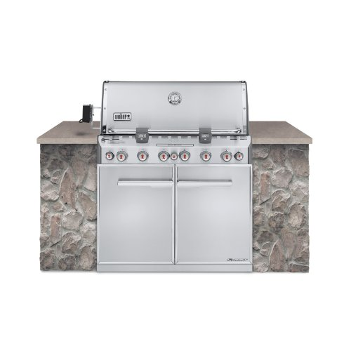 WEBER Summit S-660 Built-In Natural Ga big 4