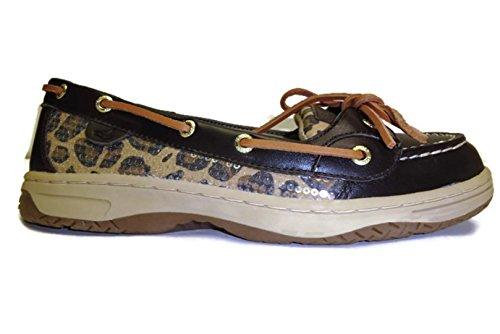 eye Brown Lace Flats up 2 leopard Sperry Womens Bluefish fWntt1