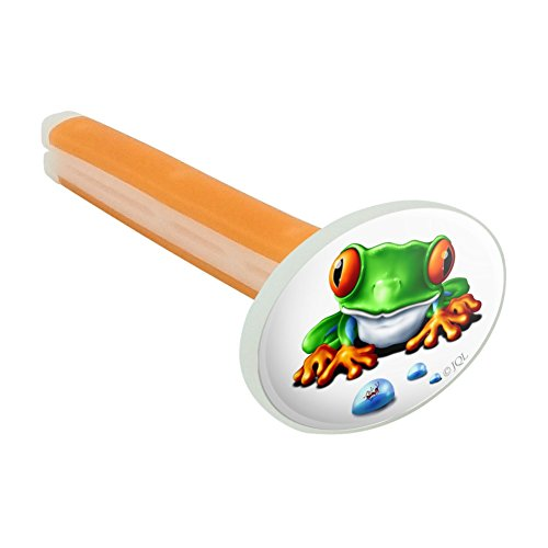(Graphics and More Rainforest Red Eyed Tree Frog and Ant Car Air Freshener Vent Clip - Citrus Blossom Scent)