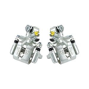 CKOE00958 [ 2 ] REAR Premium Grade OE Semi-Loaded Caliper Assembly Pair Set [Honda Civic Coupe and Sedan]