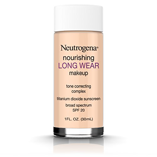 Neutrogena Nourishing Long Wear Liquid Makeup Broad Spectrum SPF 20, 40 Nude, 1 Fl. Oz