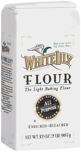 White Lily All Purpose Flour, 32 Ounce (Pack of 12) (Best Flour For Pastry)