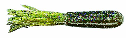 Strike Bass Candy - Strike King Coffee Tube Regular Bait (Watermelon Candy Red Laminate, 3.5-Inch)