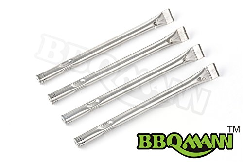 Review Of BBQMANN 14721(4-pack) Stainless Steel Burner Replacement for Select Charbroil and Kenmore ...