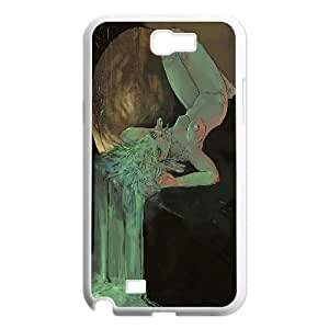 Green faery Design Top Quality DIY Hard Case Cover for Samsung Galaxy Note 2 N7100, Green faery Galaxy Note 2 N7100 Phone Case