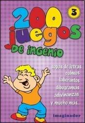 200 juegos de Ingenio #3 (Spanish Edition) [Luciana B. Gogni] (Tapa Blanda)