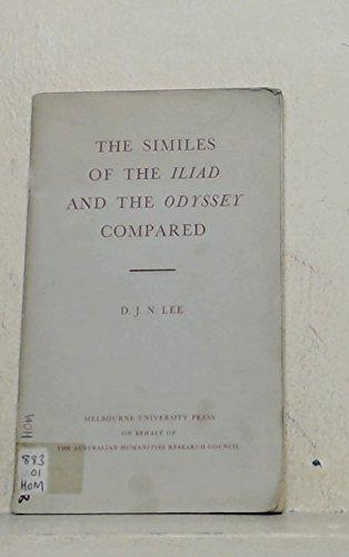 similes in the iliad