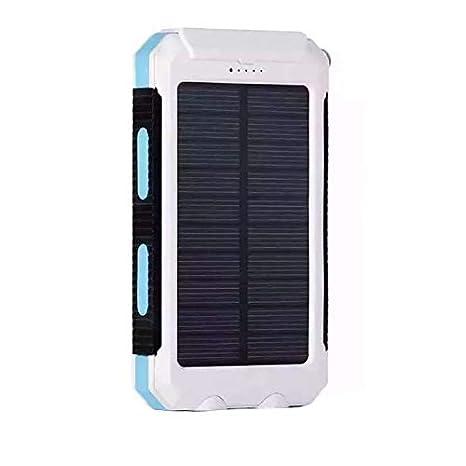 Tomasa Batería Externa Solar Batería de Emergencia Cargador ...
