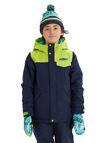 Burton Kids & Baby Little Kids' Dugout Jacket, Dress Blue/Tender Shoots, X-Small