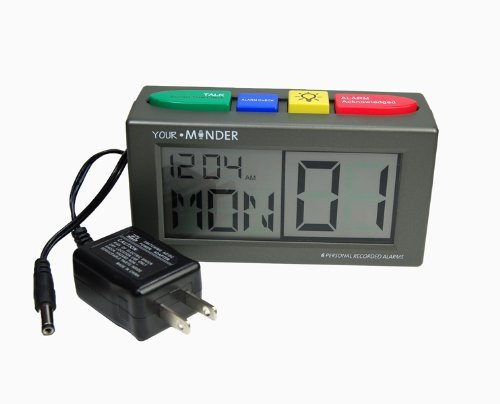 Medcenter 73202 Alarm Clock Pill Reminder Personal Recording Comes with Power Supply by Medcenter Systems Llc
