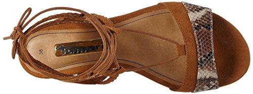 Tamaris Women's 1-1-28178-36 392 Wedge Heels Sandals Brown UgSVgr7o