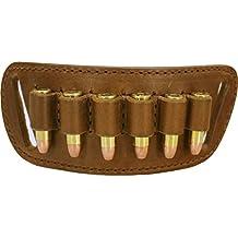vsdfvsdfv .38/.357 and 44 Mag Caliber Cartridge Loop Holder Belt Slide Holster - CCW - Concealed Carry - Ammo Loop - Bullet Loops - Mag Holster