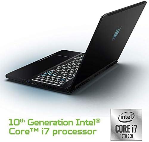 Acer Predator Triton 300 Gaming Laptop, Intel i7-10750H, NVIDIA GeForce RTX 2070 Max-Q, 15.6″ FHD 240Hz 3ms IPS Display, 16GB Dual-Channel DDR4, 512GB NVMe SSD, WiFi 6, RGB Backlit KB, PT315-52-73WT 41s5rhH7mXL