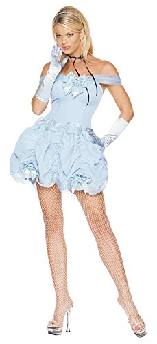 Leg Avenue Womens Southern Belle Naughty Outfit Fancy Dress Sexy Costume, M (6-10)