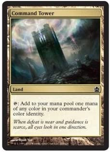 MTG Magic - NM//M C Command Tower Commander 2018