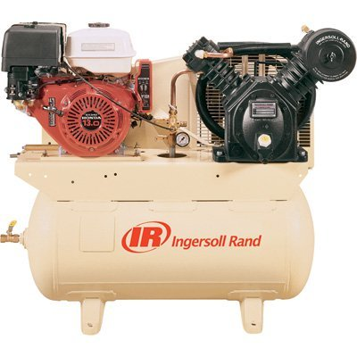 Ingersoll Rand 25 CFM @ 175 PSI, 13 HP Horizontal Air Compressor with Alternator, Model# 2475F13GH