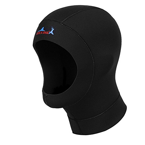 A Point Wetsuits Premium Neoprene 1mm Sport Cap Hot Skins Hood (Scuba Hood)