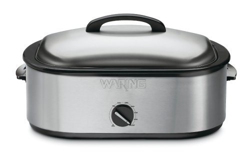 Waring RO18B Professional Stainless-Steel Portable Roaster (Waring Pro Cover)