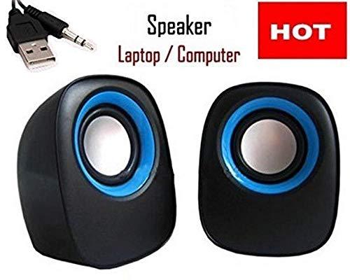 Global Craft USB Powered Laptop/Desktop PC 2.0 Mini Portable Speakers Model 31508