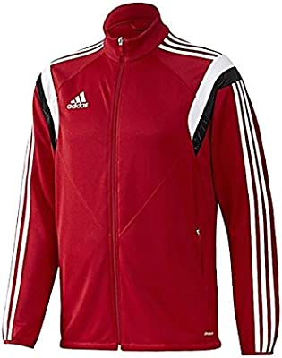 Adidas CON14 Training Womens Jacket [POWREDWhiteBlack] (XS