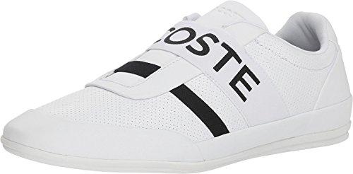 - Lacoste Men's Misano Elastic 318 2 U White/Black 13 M US M