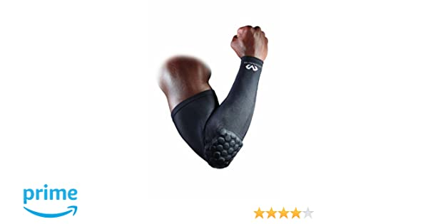 a1e8444de2 Amazon.com : McDavid HexPad Power Shooter Arm Sleeve - Columbia Blue,  Medium : Basketball Shooter Sleeves : Sports & Outdoors