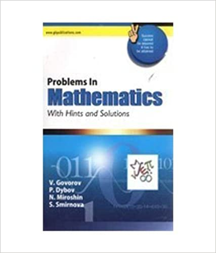 Problems In Mathematics With Hints And Solutions price comparison at Flipkart, Amazon, Crossword, Uread, Bookadda, Landmark, Homeshop18