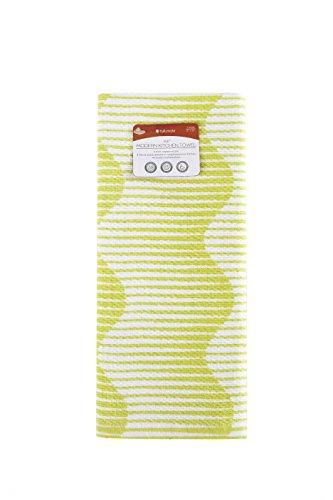 Full Circle Hue - 100% Organic Cotton Modern Kitchen Towel, 15