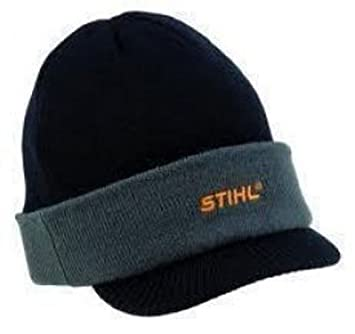 Stihl Beanie Hat with Peak  Amazon.co.uk  Garden   Outdoors 23112acd9df