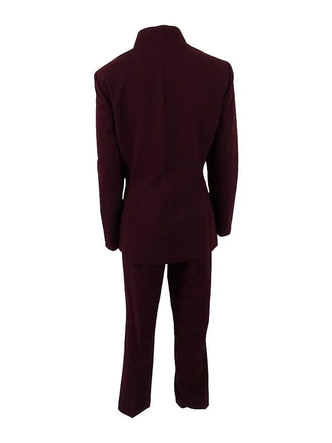 707af7f4c44 Amazon.com  Tahari ASL Women s Petite Double Star-Neck Pantsuit  Clothing
