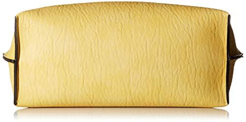 Calvin Klein Reversible Novelty Key Item N/s Tote, Light Yellow by Calvin Klein (Image #4)