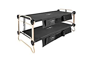 Disc-O-Bed XL, Black with Organizers