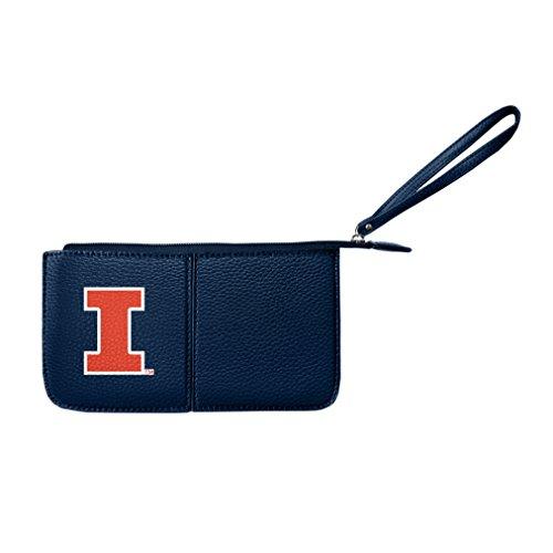 - NCAA Illinois Fighting Illini Pebble Wristlet