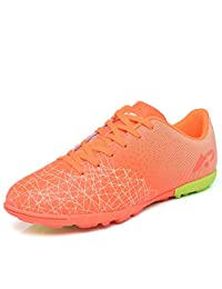 No.66 Town Men's Women's TF Sports Soccer Cleats Training Shoes Non-Slip Wear Resistant for Children