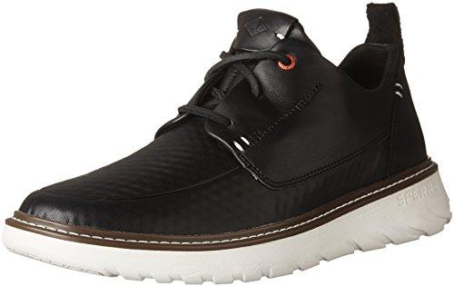 Sperry Top-Sider Men Element 3-Eye Sneaker, Black, 9.5 Medium US