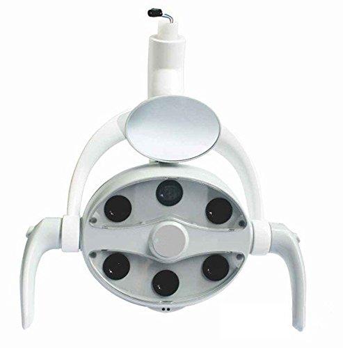 Zeta Dental LED Oral Inducción Lámpara de luz cx249–9para silla Dental unidad con espejo