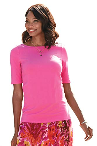 Chadwicks of Boston Elbow Sleeve tee Shirt for Women | Womens T Shirts