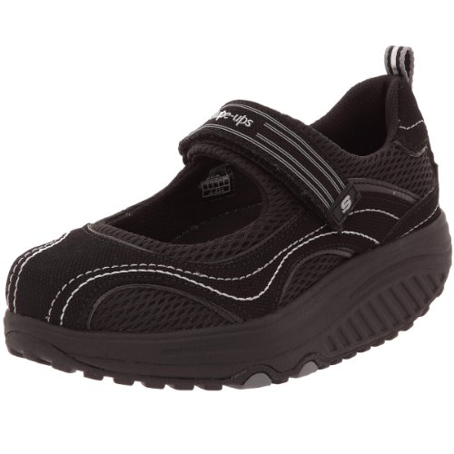 skechers women u0026 39 s shape ups sleek fit fitness mary jane