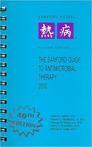 The sanford guide to antimicrobial therapy 2010 sanford guides the sanford guide to antimicrobial therapy 2010 sanford guides 40th edition negle Images