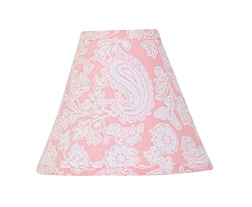Cotton Tale Designs Standard Lamp Shade, Sweet and Simple Pink ()