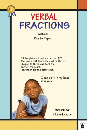 Verbal Fractions (Verbal Math Lesson Book 4)