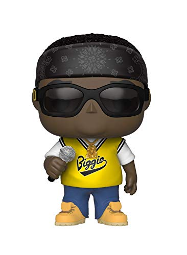 Funko Pop Rocks: Music – Notorious B.I.G. in Jersey Collectible Figure, Multicolor